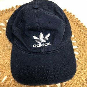 Adidas blue adjustable hat